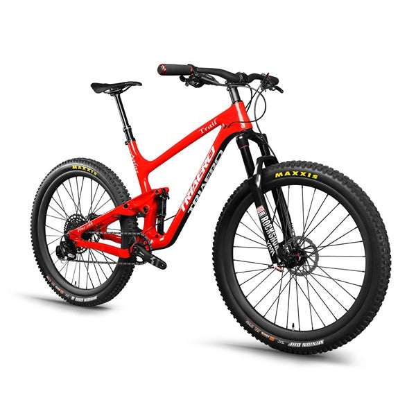 27.5 plus Trail Bike Rojo