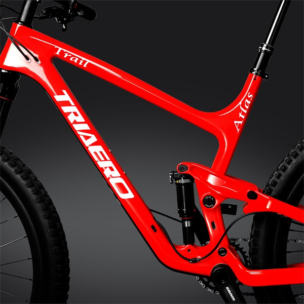27.5 plus Trail Bike Red
