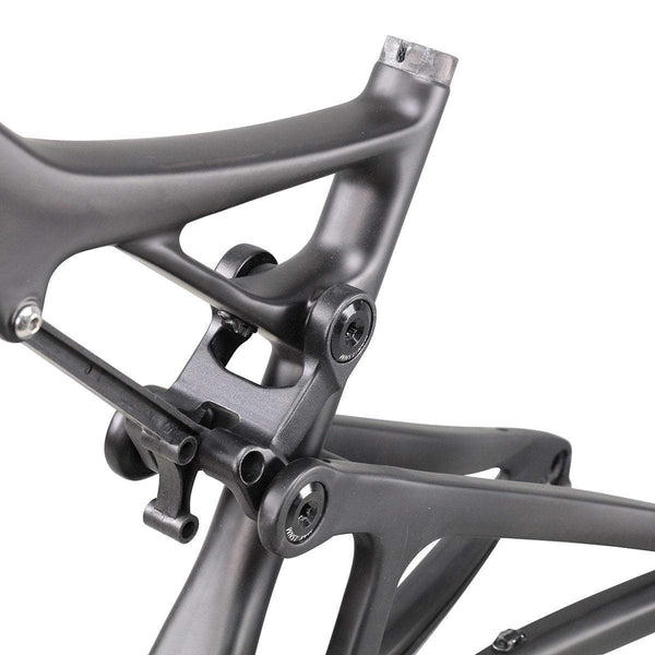 ICAN Bicycle Frames 15.5 inch / Original Black UD Matt 650B All Mountain Carbon Suspension Frame 150mm Travel