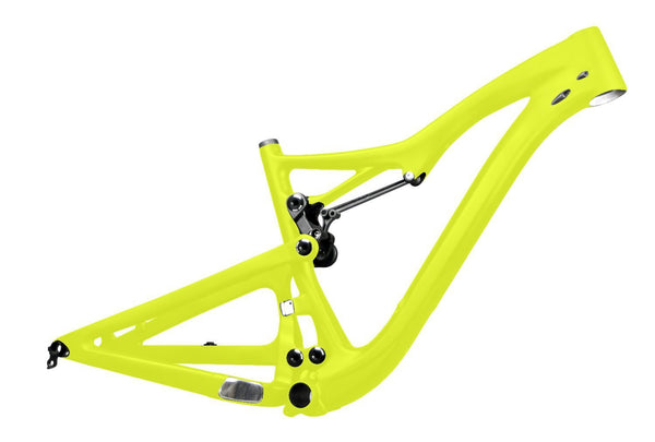 ICAN Bicycle Frames 15.5 inch / Yellow UD Matt 650B All Mountain Carbon Suspension Frame 150mm Travel