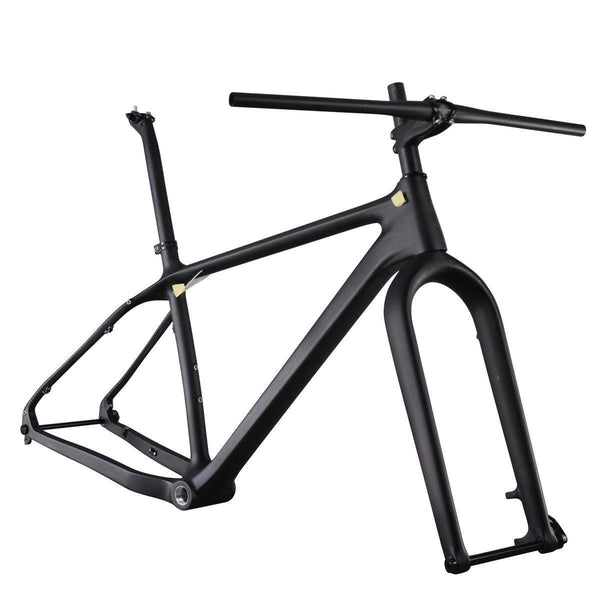 ICAN Bicycle Frames 16 inch Carbon Fat Bike Frameset Parts Combine SN01