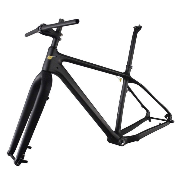 ICAN Bicycle Frames 18 inch Carbon Fat Bike Frameset Parts Combine SN01