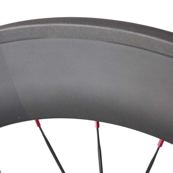 ICAN Wheels & Wheelsets Clincher with Logos 88mm Track Bike Wheelset
