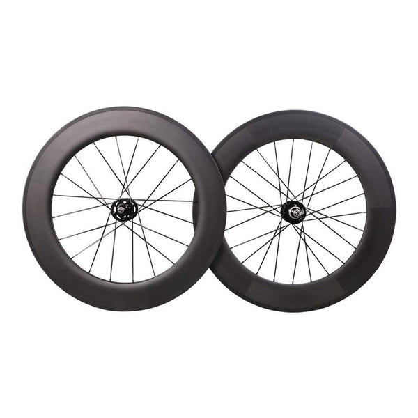 ICAN Wheels & Wheelsets Clincher without Logos 88mm Track Bike Wheelset