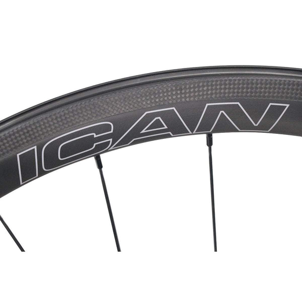 ICAN Wheels & Wheelsets Default Title 40mm Straight Pull  Wheelset Fast & Light Series