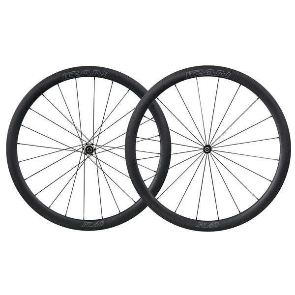 ICAN Wheels & Wheelsets Standardtitel 40mm Straight Pull Wheelset Fast & Light Series