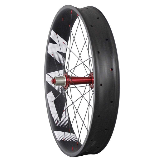 ICAN Wheels & Wheelsets Front 135mm/Rear 190mm / Sram XD Driver / Red 90mm wheelset 135/190 QR