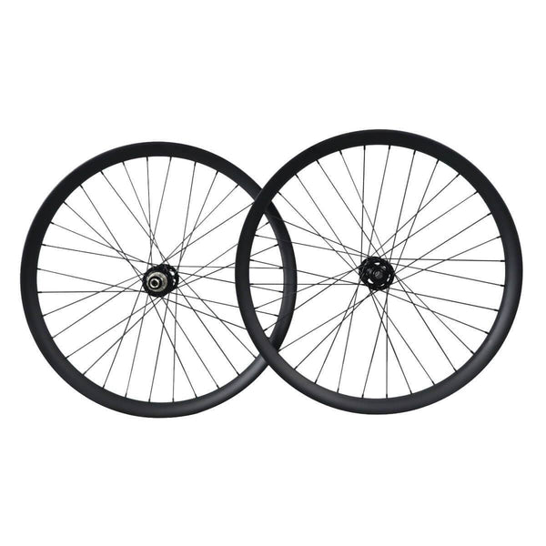 ICAN Wheels & Wheelsets Front 15x150/Rear 12x190 / Shimano 10/11 Speed 27.5er 50mm Width Fat Bike Wheelset