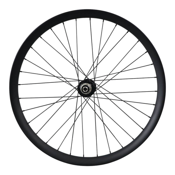ICAN 27.5er 50mm Width Carbon Fat Bike Wheelset Clincher Tubeless Ready Powerway Hubs M74 Front 15x150mm Rear 12x190/197mm