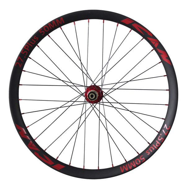 ICAN Wheels & Wheelsets Shimano 10/11 Speed 27.5 Plus 50mm Wide Rim Carbon Boost Wheelset
