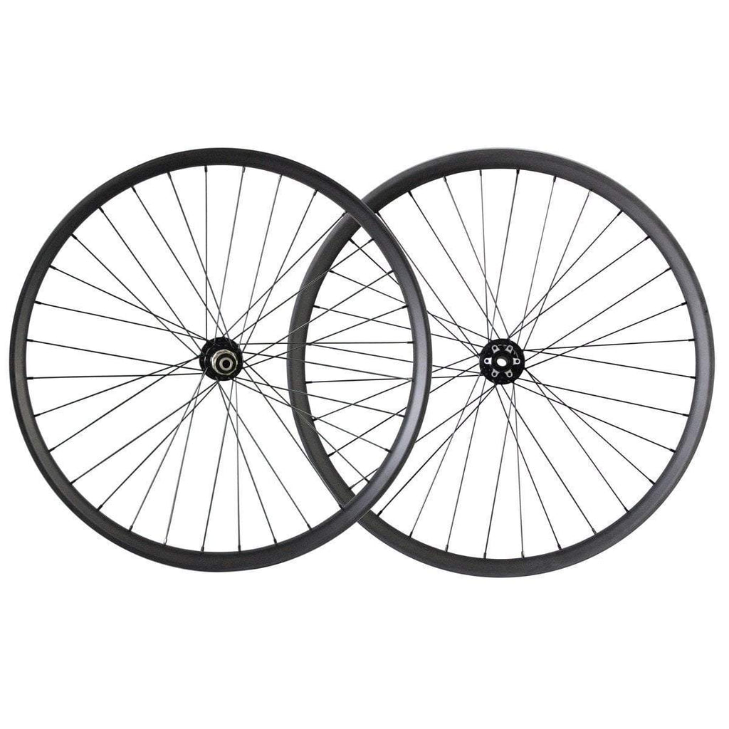 ICAN Wheels & Wheelsets Shimano 10/11 Speed 29 Plus 50mm Wide Rim Carbon Boost Wheelset