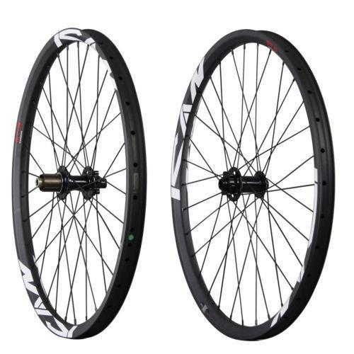 ICAN 27.5er AM/Enduro Carbon Mountain Bike Wheelset 35mm/40mm Rim Wide