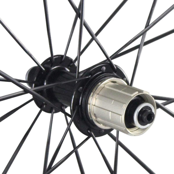 ICAN Wheels & Wheelsets Standard Hub R13 38mm Wheelset with Sapim CX-Ray Spokes