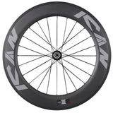 ICAN Wheels & Wheelsets Standard Hub R13 86mm Clincher Tubeless Ready Wheelset