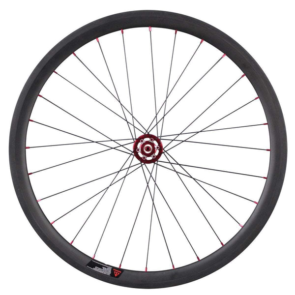 ICAN Wheels & Wheelsets Standard QR 9*100mm/9*135mm / Shimano 10/11 Speed 38mm Disc Wheelset Clincher