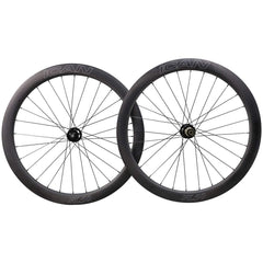 ICAN Wheels & Wheelsets Thru Axle(Front 15x100mm Rear 12x142mm) / Sapim CX-Ray Aero Spokes 50mm Disc Wheelset Fast & Light Series