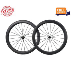 icancycling Wheels & Wheelsets Default Title 55mm Road Bike Wheelset Standard Hubs (Free Shipping and Taxes Free)