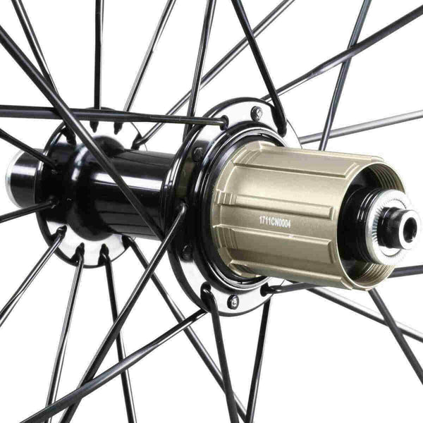 icancycling Wheels & Wheelsets UDM with Black Hubs 50mm Clincher Carbon Road Bike Wheelset with Sapim Spokes (무료 배송 및 세금 무료)