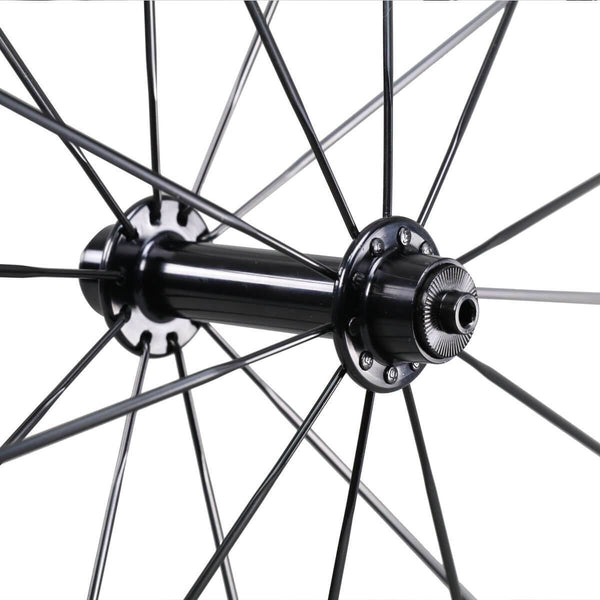icancycling Wheels & Wheelsets With ICAN logos 50mm Clincher Standard Road Bike Wheelset (Free Shipping and Taxes Free)