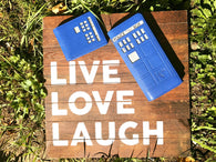 His and Hers Premium Tardis Wallets