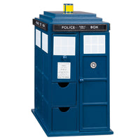 Awesome Doctor Who Tardis Wooden Jewelry Box - Diamond Wallets