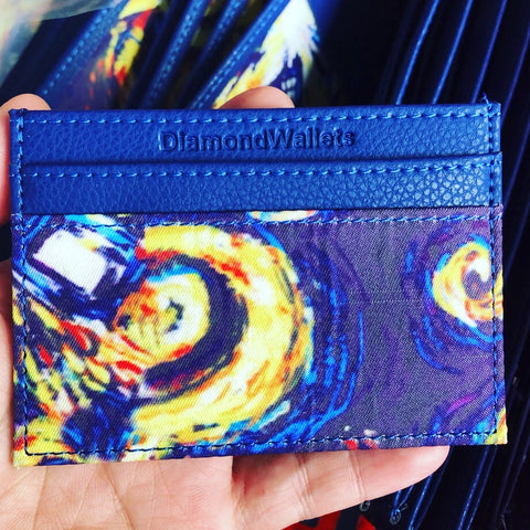Tardis Van Gogh Minimalist 2.0 Wallet - Diamond Wallets