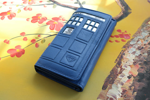 Doctor Who 4.0 Tardis Wallet - Diamond Wallets
