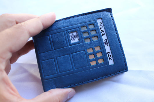 Tardis Doctor Who Wallet RFID - Diamond Wallets
