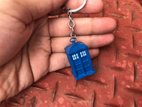 Doctor Who Tardis Keychain 100% Premium Metal Cast - Diamond Wallets