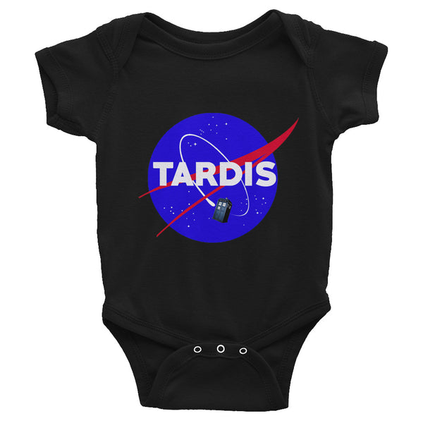 Baby Tardis Nasa Bodysuit - Diamond Wallets