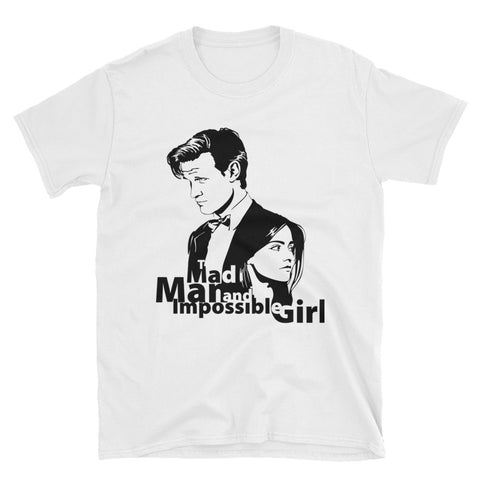 The Mad Man and Impossible Girl - Doctor Who Shirt - Diamond Wallets