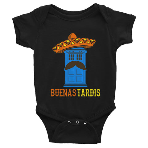 Doctor Who Tardis Baby Bodysuit - Diamond Wallets