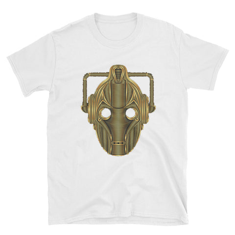 Gold Cyberman DoctorWho Unisex T-Shirt - Diamond Wallets