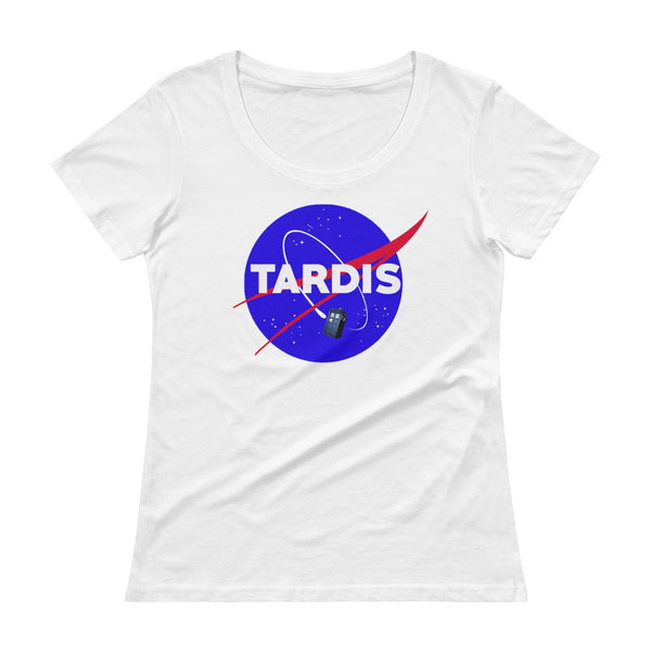 Doctor Who Ladies' Scoopneck T-Shirt - Diamond Wallets