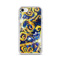 Doctor Who Van Gogh Exploding Tardis iPhone Case - Diamond Wallets