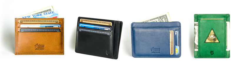 axess front pocket wallet