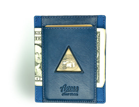 Mens front pocket wallet from Axess Front Wallets