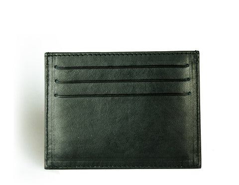 Leather credit card wallet from Axess Front Wallet