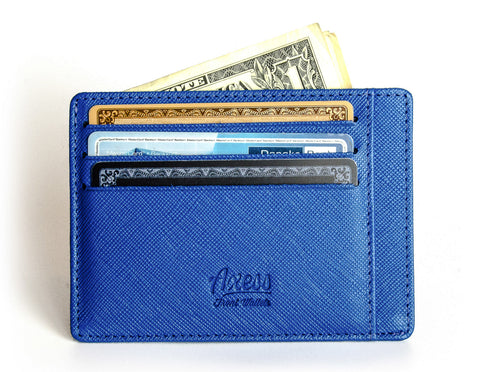 Front pocket wallet from Axess Front Wallets