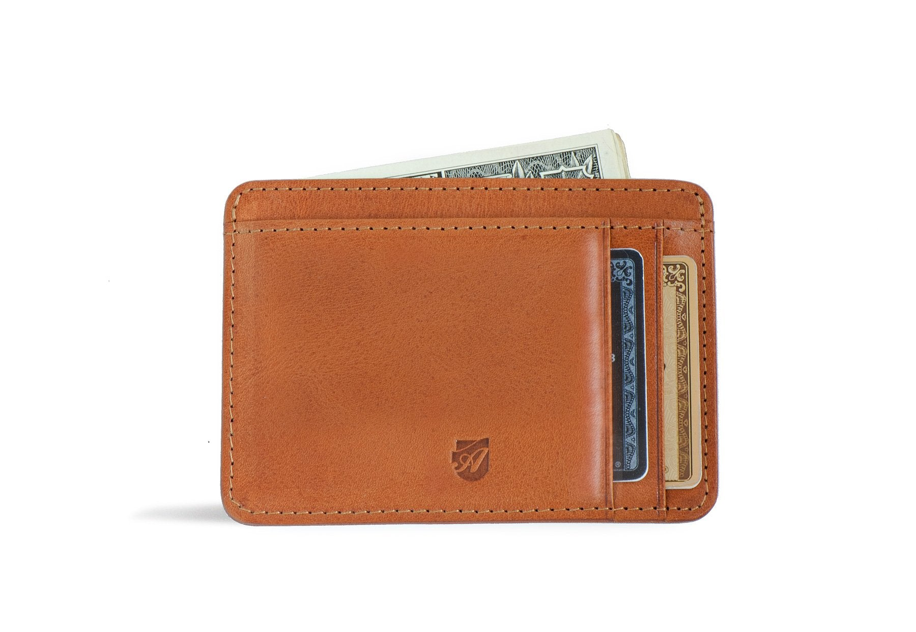 Front Pocket Id Wallet Caramel