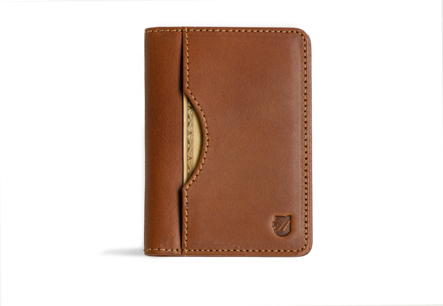 Long Slim Wallet - Cognac