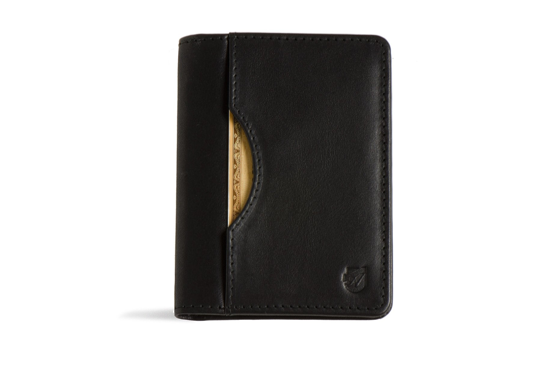 Long Slim Wallet - Black