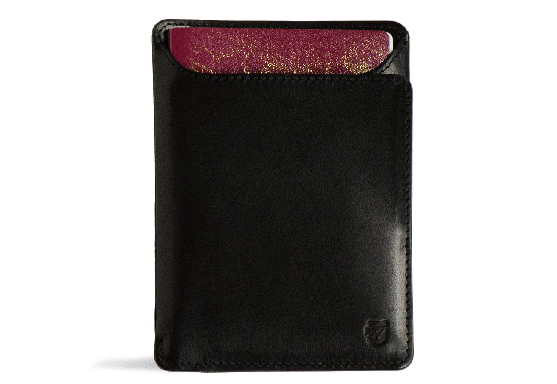 Rfid Passport Wallet - Black