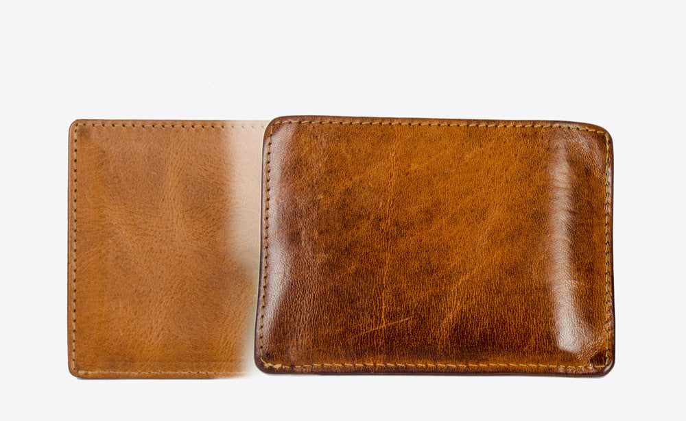 Tuscany leather develops a rich patina over time