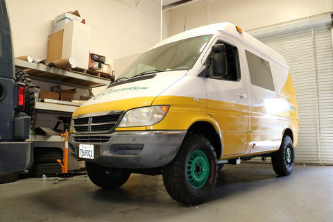 Sprinter 4x4 Conversion Available Soon – Van Compass™