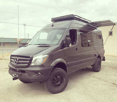 "Van Compass 2"" Sprinter lift kit suspension upgrade"