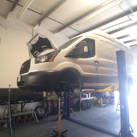 Struts And Shocks >> 2015 Ford Transit Suspension Lift Kit – Van Compass™