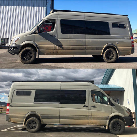 Van Compass Stage 3 before and after