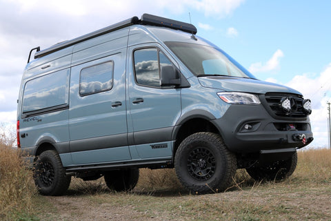 Van Compass Sprinter 4x4 suspension upgrades