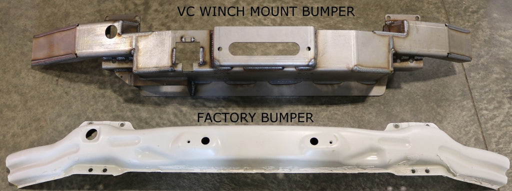 VAN COMPASS SPRINTER WINCH MOUNT BUMPER